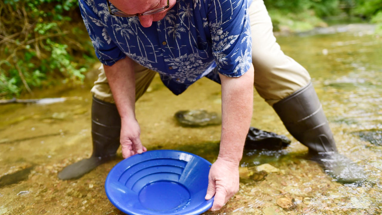 Watch: Panning for gold in York County