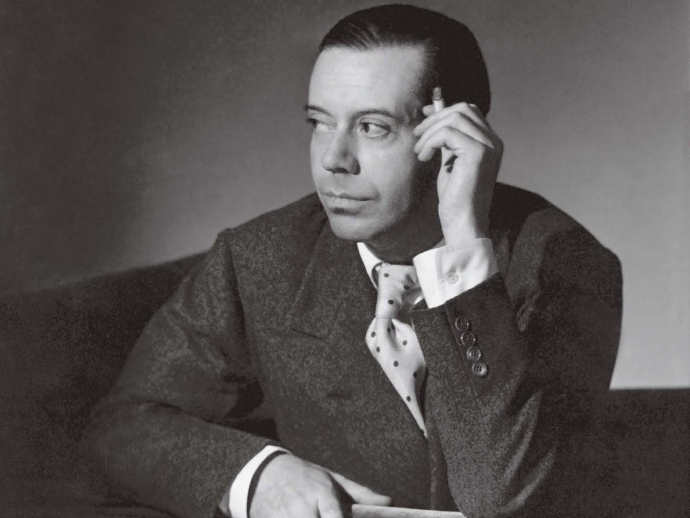 Cole Porter composed music and lyrics for Broadway