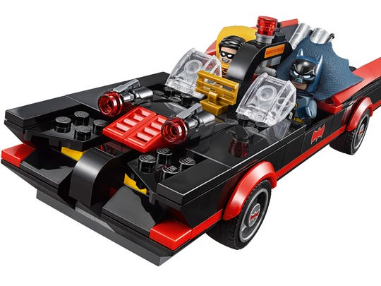 The iconic Batmobile is included in an upcoming LEGO