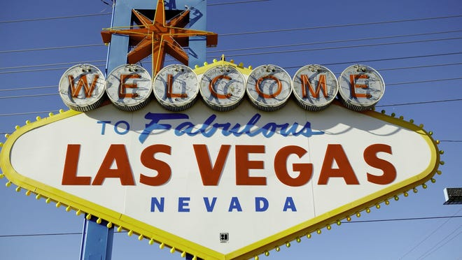 "File photo: The ""Welcome to Las Vegas"" sign."