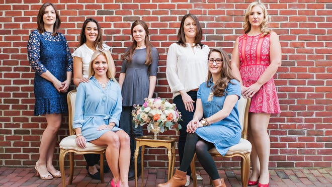 The women behind the photo shoot at Antoinette Boulangerie.