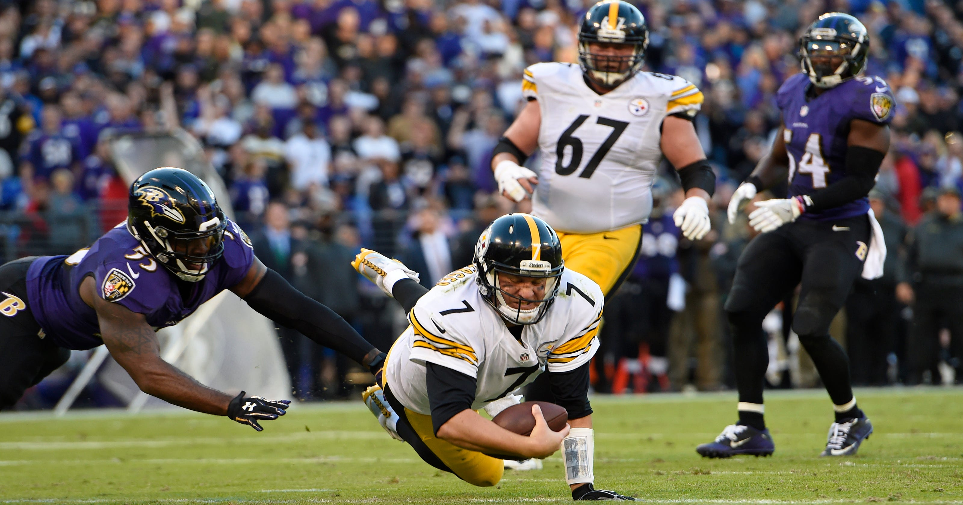 5f21e91f5 Best rivalry in NFL on tap  Steelers at Ravens