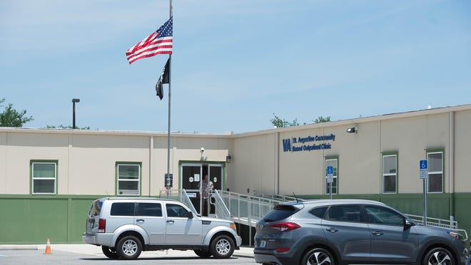 U.S. Department of Veterans Affairs' St. Augustine Community Based Outpatient Clinic is located off Old Moultrie Road in St. Augustine.