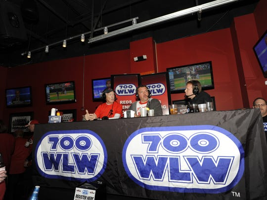 700 WLW inside the Holy Grail with Jim Scott, Scott Sloan and Mark Amazon last year.