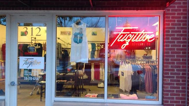 Men's clothing store Fugitive Apparel Co. has opened in the East Village.