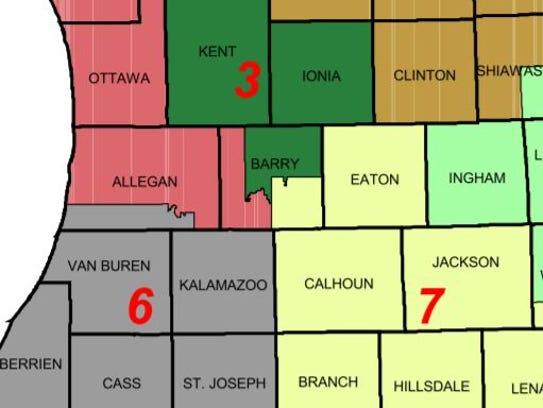 In 1992, Calhoun County was split from Kalamazoo County