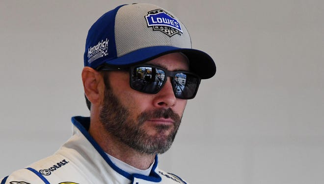 Jimmie Johnson's run to a possible seventh title ended at Dover last year.