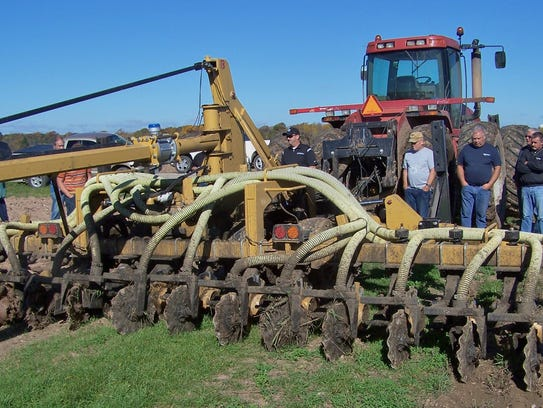 A Bazooka Farmstar vertical tillage unit is suited