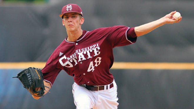 Mississippi State's Ross Mitchell and Jacob Lindgren were named finalists of the Ferriss Award on Monday.