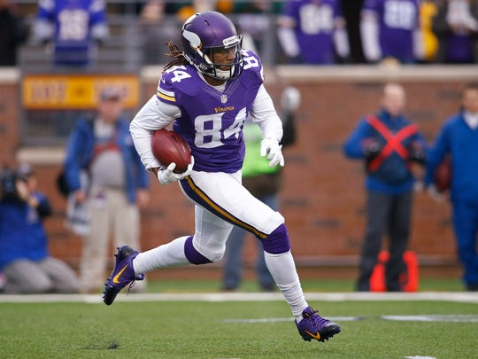 Minnesota is hoping Cordarrelle Patterson is more than just an explosive return guy.