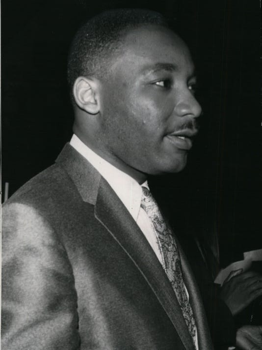 Martin Luther King in 1957