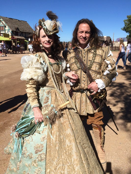 Renaissance Festival  lord and lady