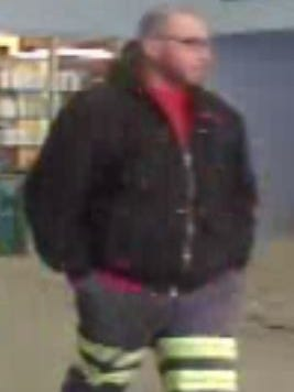 Oshkosh Police need the public's help in identifying this man, whom they believe stole two laptop computers from Walmart on Feb. 21.