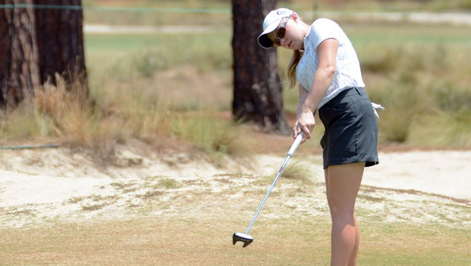 Samantha Gotcher qualified for the U.S. Women's Open with two rounds of 76.