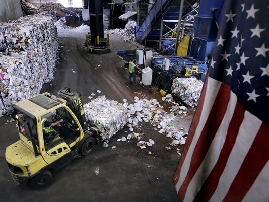 APTOPIX Recycling Shake-up