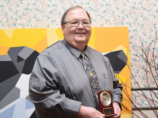 Dr. David Selner of the National Dairy Shrine was awarded