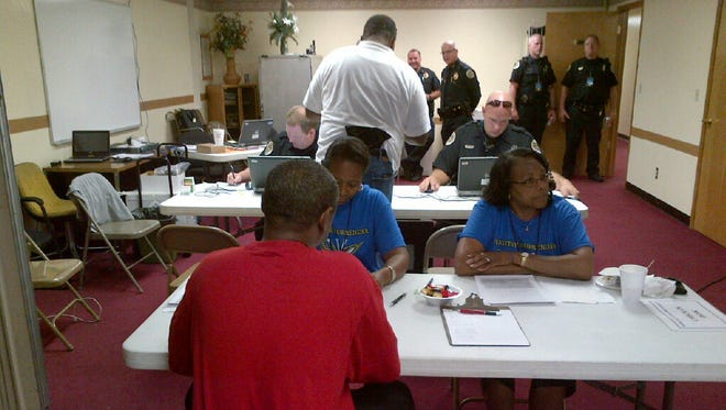 Metro police held a Fugitive Safe Surrender Event Friday and Saturday, Sept. 18-19, at  Galilee Missionary Baptist Church at 2021 Herman Street.