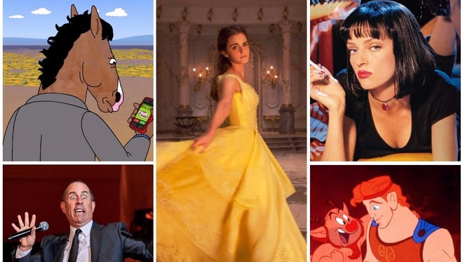 In September, Netflix users will be able to see fresh episodes of 'Bojack Horseman,' a Jerry Seinfeld comedy special, the live-action 'Beauty and the Beast,' 'Pulp Fiction' and the animated 'Hercules.'