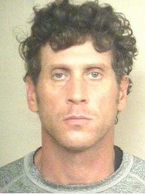 Christopher Palais, 44, was arrested and charged with strong-arm robbery.