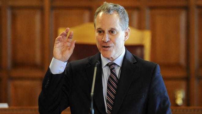 New York State Attorney Eric  Schneiderman