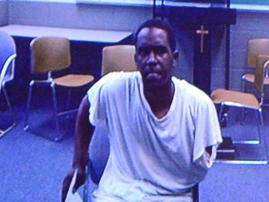 Patrick Corey Seaton Jr. is arraigned in the Ionia