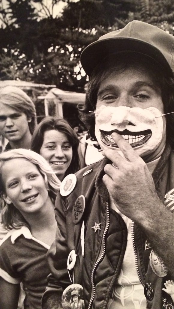 Robin Williams in LA.