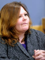 Witness Amy Lesniak, 39, testifies that she has custody of defendant Angela Alexie's other children.