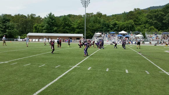 The Owen Youth League hosted a football jamboree on Saturday.