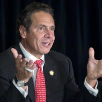 New York Gov. Andrew Cuomo is shown Oct. 7 in Albany.