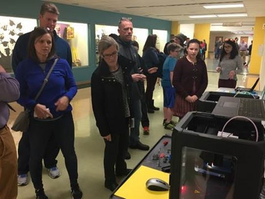 On Feb. 8, J.P. Case students showcased how technology