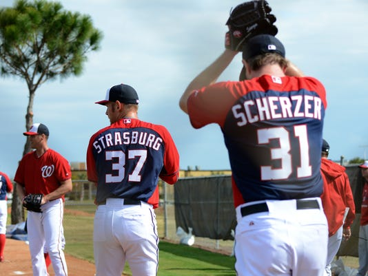 Spring Training: Washington Natonals Pitchers and Catchers