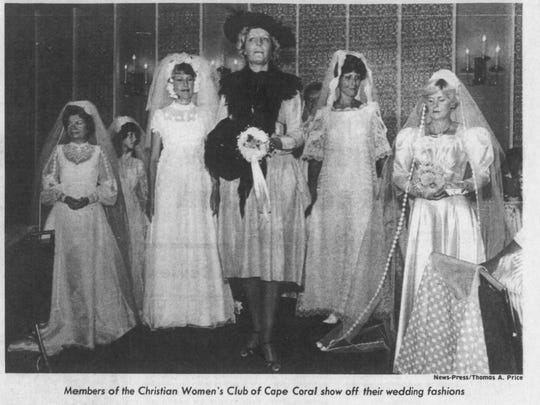 In 1979, the Cape Coral Christian Women's Club staged