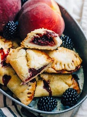 The summer fruit pie goes portable with these hand