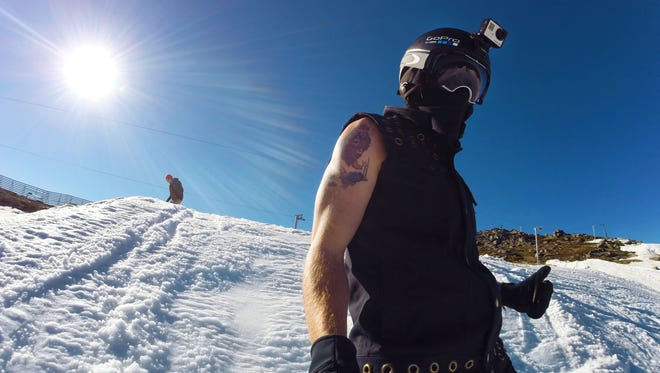 Shaun White trains in Australia on a secluded halfpipe with GoPro camera technology.
