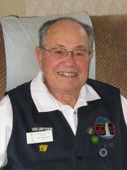 Silver Falls State Park volunteer Earl McCollum.