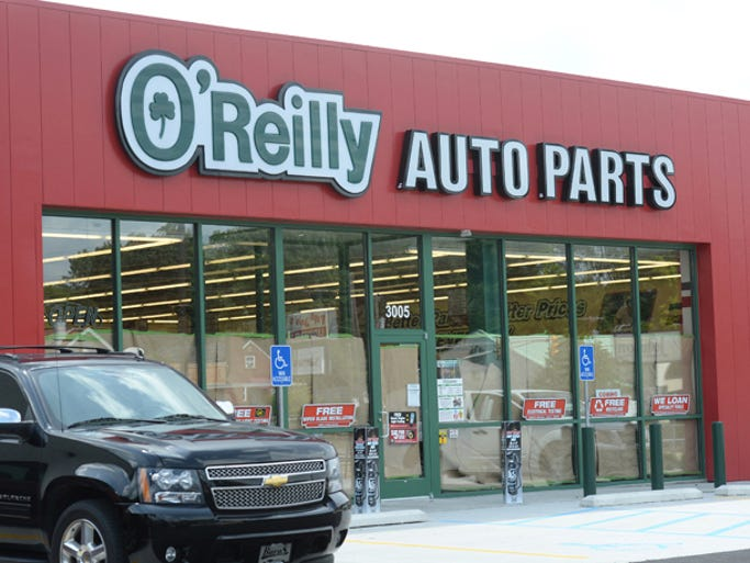O' Reilly Auto Parts store on National Road East Wednesday, Aug. 20, 2014. The store is set to open Saturday Aug. 23, 2014.