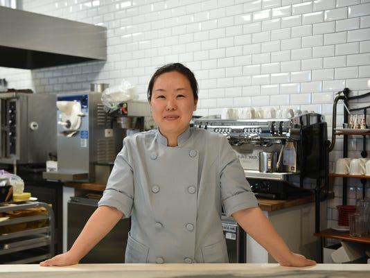Pastry chef Jane Mun