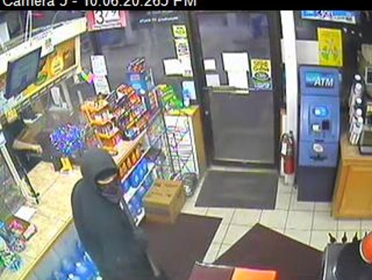 A Champlain Farms store in Waterbury was robbed Thursday