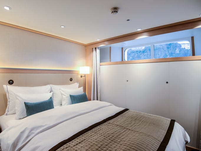 Standard cabins are Viking's least expensive accommodations,