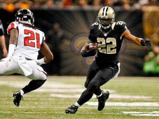 Dec 21, 2014: New Orleans Saints running back Mark