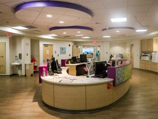 The NICU at the Golisano Children's Hospital of Southwest