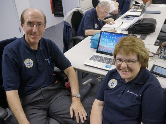 Thomas and Marguerite Venn are Civil Air Patrol volunteers.