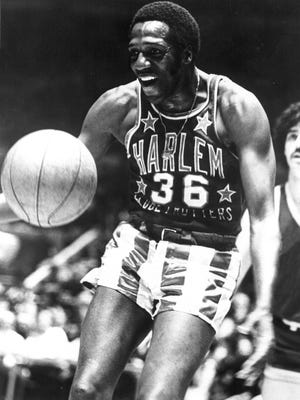 """The Harelm Globetrotters 90th anniversary tour, which will bring them to White Plains Thursday, will be dedicated to the memory of George """"Meadowlark"""" Lemon"""