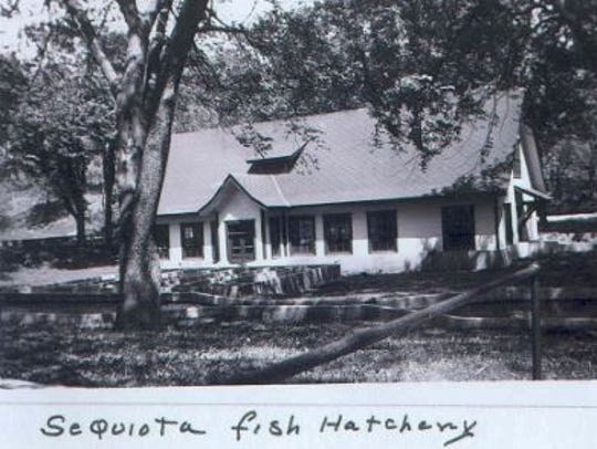 This building was once located on what is now Sequiota
