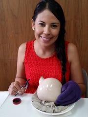During a Mata Ortiz pottery presentation and sale at