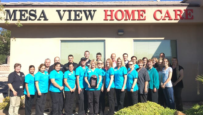 Mesa View Home Care in Mesquite has earned a Quality Award from HealthInsight.