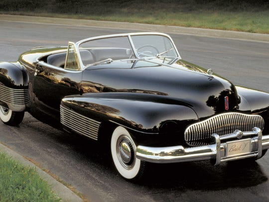 1938 Buick Y-Job is a concept vehicle restored under Ed Welburn's leadership.