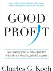 The cover of industrialist Charles Koch's latest book.