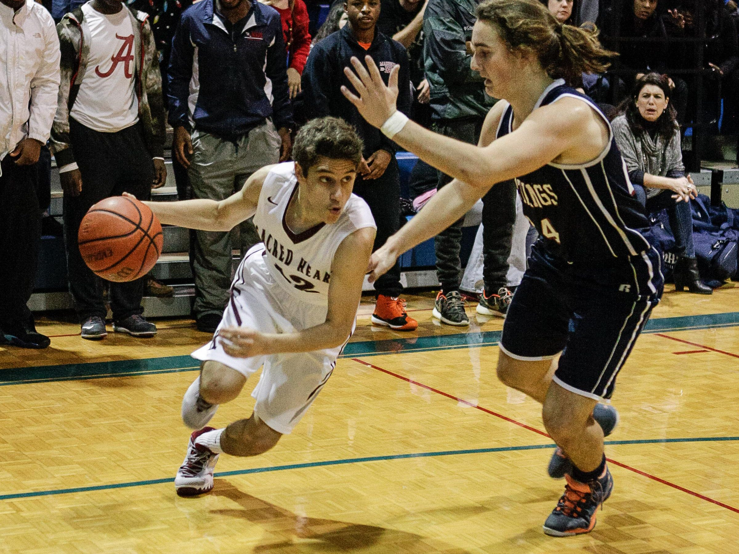 Sacred Heart earned a 61-32 win Friday over Madison Academic.