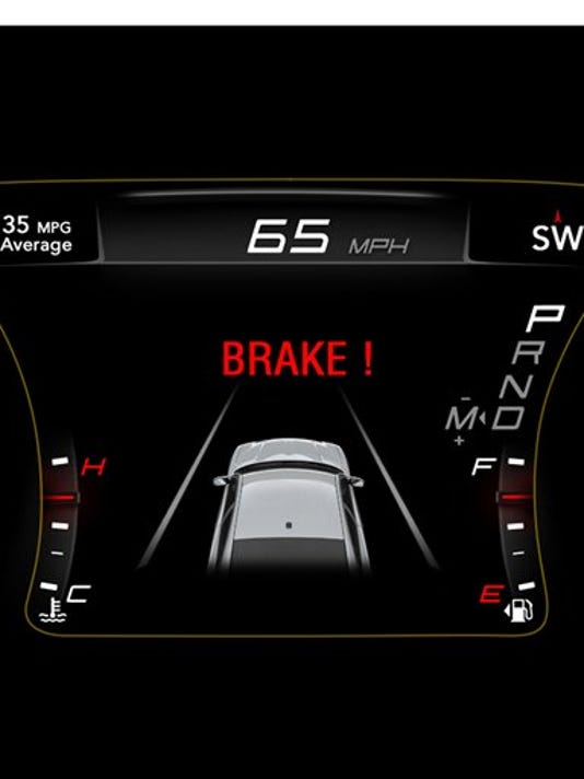 FCA emergency brake